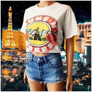 Guns N Roses Graphic Shirt Rock Band Tour Concert